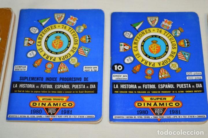 Coleccionismo deportivo: Lote antiguo CALENDARIOS FÚTBOL - Dinámico y otras marcas - desde años 40 a 80 ¡Mira fotos/detalles! - Foto 5 - 200294245