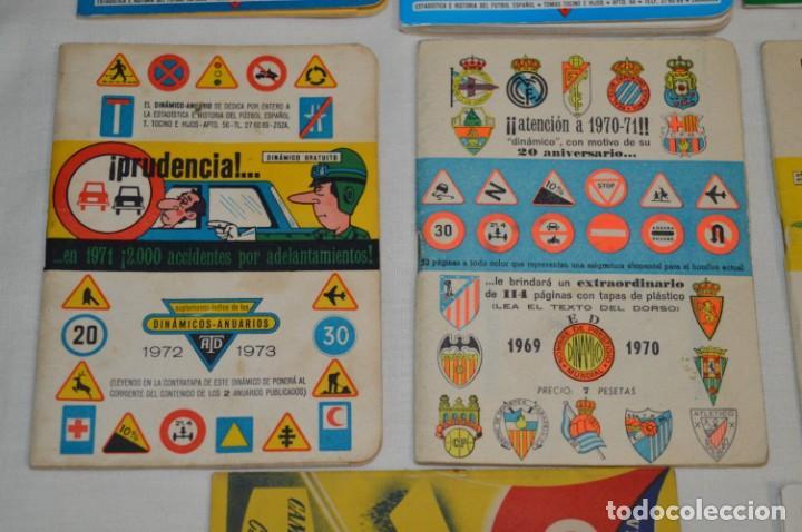 Coleccionismo deportivo: Lote antiguo CALENDARIOS FÚTBOL - Dinámico y otras marcas - desde años 40 a 80 ¡Mira fotos/detalles! - Foto 10 - 200294245