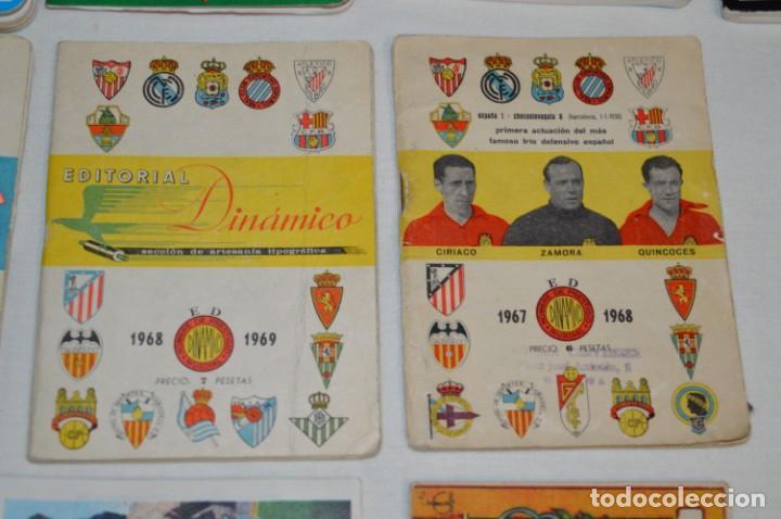 Coleccionismo deportivo: Lote antiguo CALENDARIOS FÚTBOL - Dinámico y otras marcas - desde años 40 a 80 ¡Mira fotos/detalles! - Foto 11 - 200294245