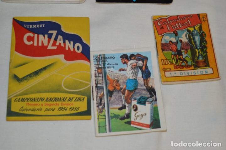 Coleccionismo deportivo: Lote antiguo CALENDARIOS FÚTBOL - Dinámico y otras marcas - desde años 40 a 80 ¡Mira fotos/detalles! - Foto 12 - 200294245