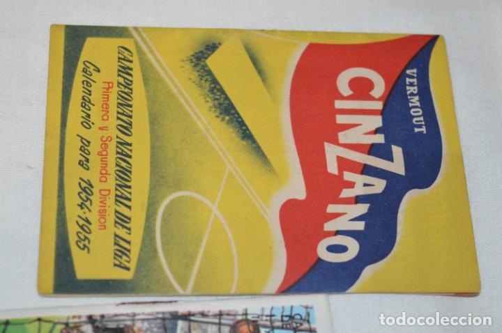 Coleccionismo deportivo: Lote antiguo CALENDARIOS FÚTBOL - Dinámico y otras marcas - desde años 40 a 80 ¡Mira fotos/detalles! - Foto 13 - 200294245
