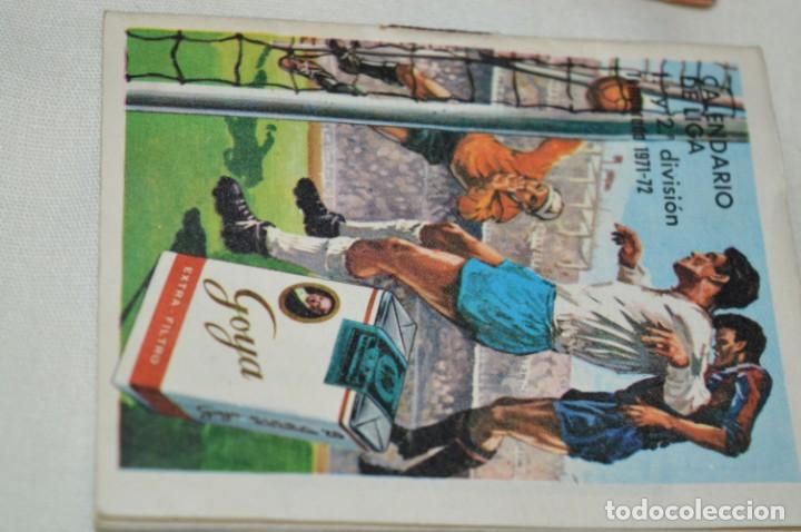 Coleccionismo deportivo: Lote antiguo CALENDARIOS FÚTBOL - Dinámico y otras marcas - desde años 40 a 80 ¡Mira fotos/detalles! - Foto 15 - 200294245