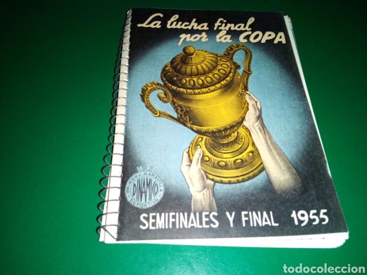 CALENDARIO LIGA ESPAÑOLA DE FÚTBOL DINÁMICO 1955. IMPECABLE (Coleccionismo Deportivo - Documentos de Deportes - Calendarios)