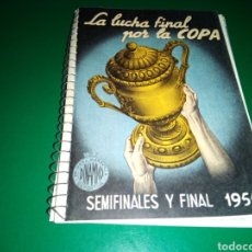Coleccionismo deportivo: CALENDARIO LIGA ESPAÑOLA DE FÚTBOL DINÁMICO 1955. IMPECABLE. Lote 204058138