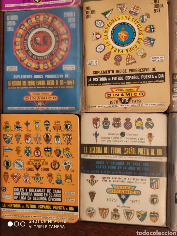 Coleccionismo deportivo: 16 dinamico!!! calendarios de fútbol de años 70 y 80 - Foto 2 - 204142820