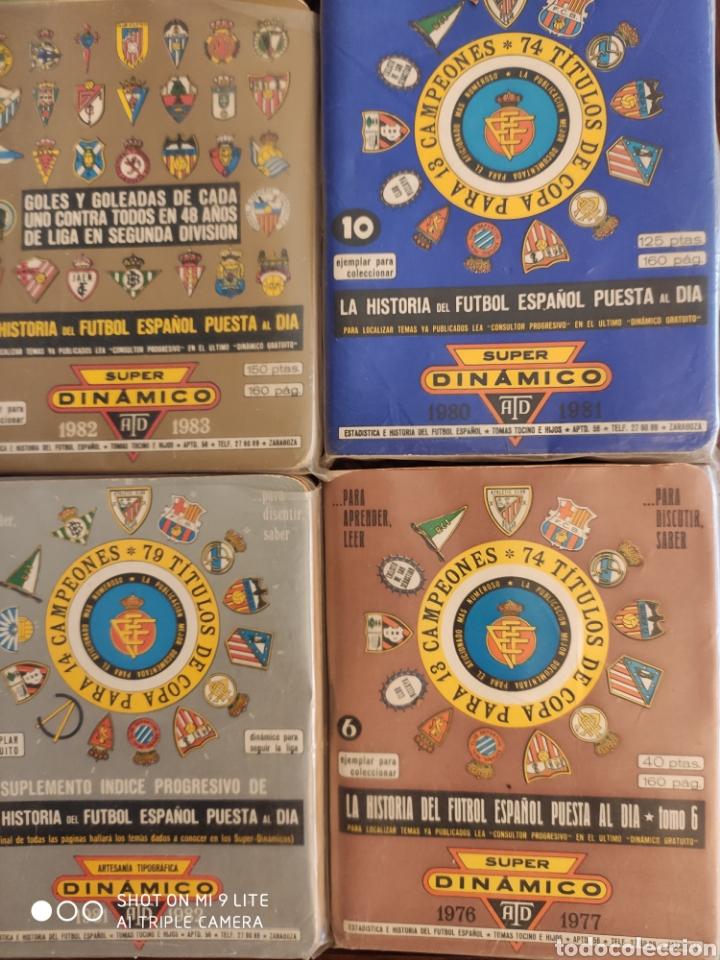 Coleccionismo deportivo: 16 dinamico!!! calendarios de fútbol de años 70 y 80 - Foto 3 - 204142820