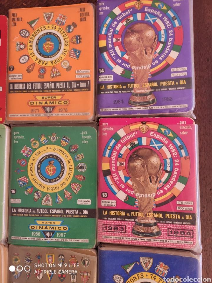 Coleccionismo deportivo: 16 dinamico!!! calendarios de fútbol de años 70 y 80 - Foto 4 - 204142820