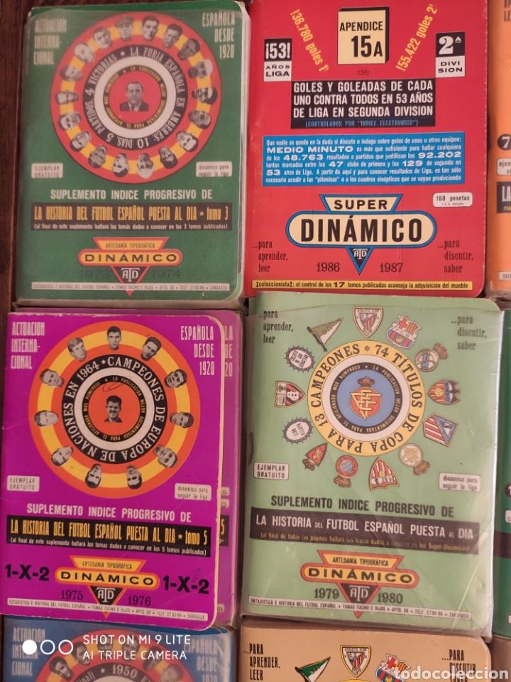 Coleccionismo deportivo: 16 dinamico!!! calendarios de fútbol de años 70 y 80 - Foto 5 - 204142820