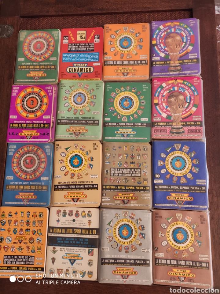 16 DINAMICO!!! CALENDARIOS DE FÚTBOL DE AÑOS 70 Y 80 (Coleccionismo Deportivo - Documentos de Deportes - Calendarios)