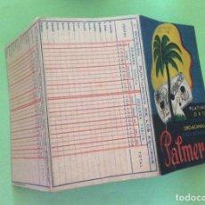 Coleccionismo deportivo: CAMPEONATO 1ª DIVISIÓN 1944-45 LA PALMERA. Lote 204321095