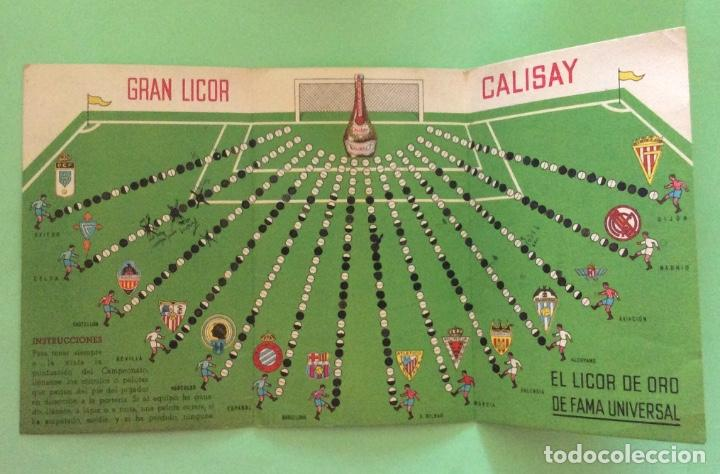 Coleccionismo deportivo: Campeonato nacional de liga 1ª División 1945-46 Calisay - Foto 2 - 204322267