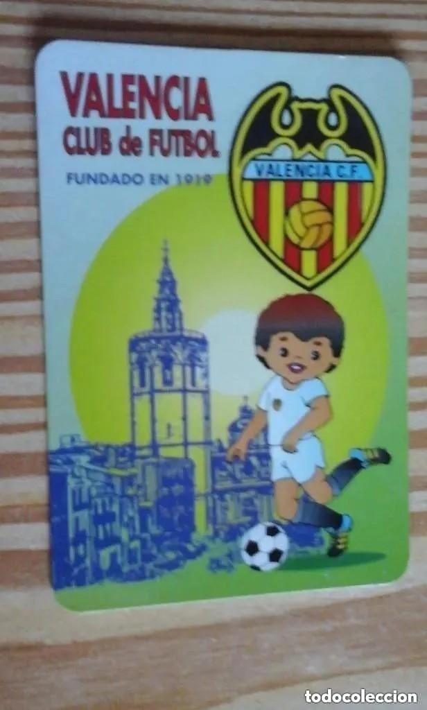 CALENDARIO DE BOLSILLO VALENCIA 1996 (Coleccionismo Deportivo - Documentos de Deportes - Calendarios)