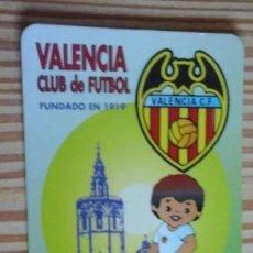 Coleccionismo deportivo: CALENDARIO DE BOLSILLO VALENCIA 1996. Lote 205098955