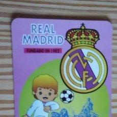 Coleccionismo deportivo: CALENDARIO DE BOLSILLO REAL MADRID 1996. Lote 205099122