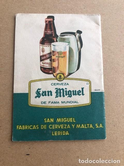 Coleccionismo deportivo: CALENDARIO DEL CAMPEONATO DE LIGA 1961 1962 61 62 SAN MIGUEL C2 - Foto 2 - 205370611