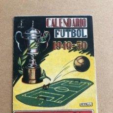 Coleccionismo deportivo: CALENDARIO DE FUTBOL 1949 1950 49 50 LIGA 1ª Y 2ª DIVISION CRESPO C2. Lote 205372755