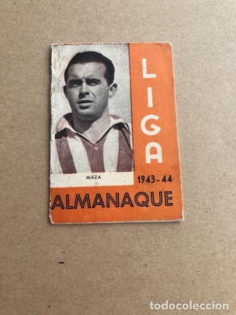 ALMANAQUE LIGA 1943 1944 43 44 MIEZA ATHLETIC DE BILBAO EDICIONES ALFONSO C2 (Coleccionismo Deportivo - Documentos de Deportes - Calendarios)