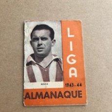 Coleccionismo deportivo: ALMANAQUE LIGA 1943 1944 43 44 MIEZA ATHLETIC DE BILBAO EDICIONES ALFONSO C2. Lote 205374616
