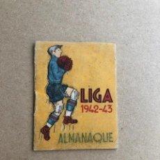 Coleccionismo deportivo: ALMANAQUE LIGA 1942 1943 42 43 EDICIONES ALFONSO C2. Lote 205374880