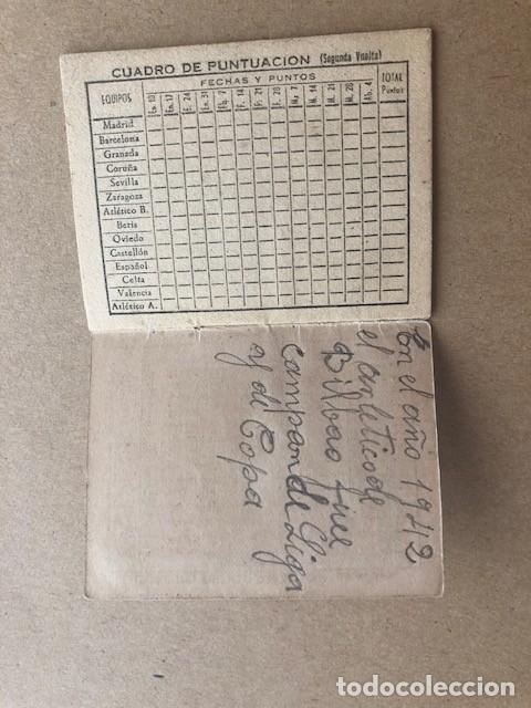 Coleccionismo deportivo: ALMANAQUE LIGA 1942 1943 42 43 EDICIONES ALFONSO C2 - Foto 4 - 205374880
