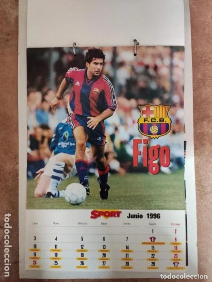 Coleccionismo deportivo: CALENDARIO BARÇA 1996 completo - Foto 6 - 205666211