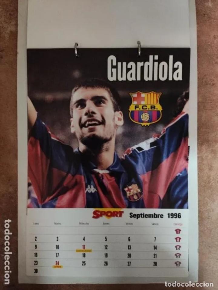 Coleccionismo deportivo: CALENDARIO BARÇA 1996 completo - Foto 9 - 205666211