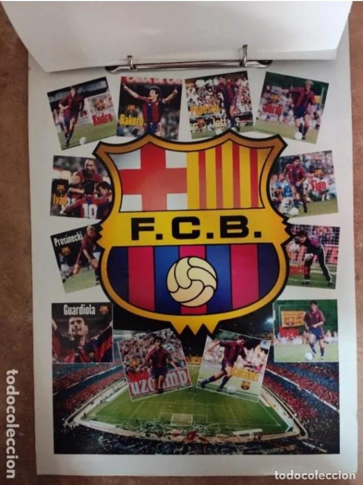 Coleccionismo deportivo: CALENDARIO BARÇA 1996 completo - Foto 13 - 205666211