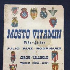 Coleccionismo deportivo: CALENDARIO TEMPORADA 1960 1961 - PRIMERA SEGUNDA (NORTE Y SUR) Y TERCERA DIVISIÓN. Lote 205711821
