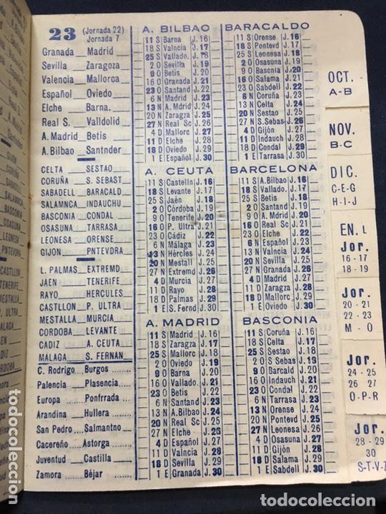 Coleccionismo deportivo: CALENDARIO TEMPORADA 1960 1961 - PRIMERA SEGUNDA (NORTE Y SUR) Y TERCERA DIVISIÓN - Foto 5 - 205711821
