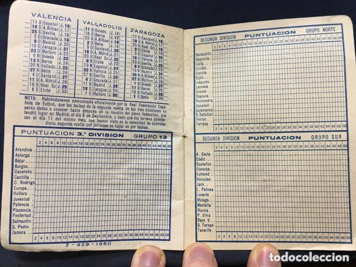 Coleccionismo deportivo: CALENDARIO TEMPORADA 1960 1961 - PRIMERA SEGUNDA (NORTE Y SUR) Y TERCERA DIVISIÓN - Foto 6 - 205711821