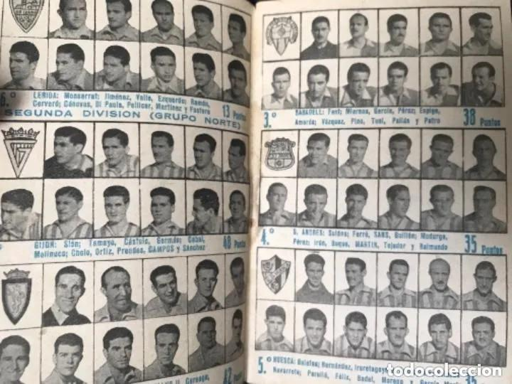 Coleccionismo deportivo: ANTIGUO CALENDARIO FUTBOL DINÁMICO AÑO 1951-1952 - Foto 4 - 205777938