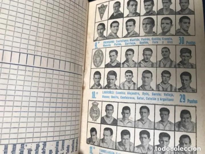 Coleccionismo deportivo: ANTIGUO CALENDARIO FUTBOL DINÁMICO AÑO 1951-1952 - Foto 8 - 205777938