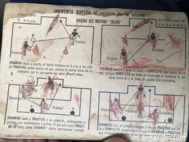 Coleccionismo deportivo: ANTIGUO CALENDARIO FUTBOL DINÁMICO AÑO 1951-1952 - Foto 9 - 205777938