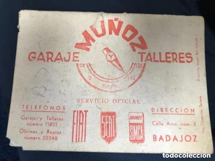 Coleccionismo deportivo: ANTIGUO CALENDARIO FUTBOL LIGA 1960 1961 PRIMERA SEGUNDA TERCERA BADAJOZ - Foto 5 - 205778943