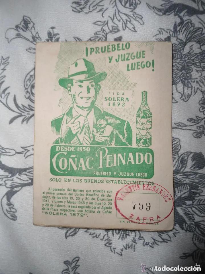 Coleccionismo deportivo: ANTIGUO Y RARO CALENDARIO DE FUTBOL - PRIMERA PREFERENTE - GRUPO EXTREMEÑO - TEMPORADA 1947-1948 - Foto 3 - 205784415