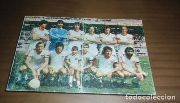 ANTIGUO CALENDARIO FUTBOL SEVILLA F.C. - LIGA 1978 1979 (Coleccionismo Deportivo - Documentos de Deportes - Calendarios)