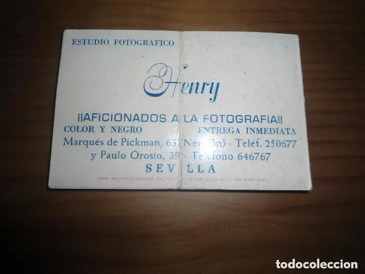 Coleccionismo deportivo: ANTIGUO CALENDARIO FUTBOL SEVILLA F.C. - LIGA 1978 1979 - Foto 2 - 205786893