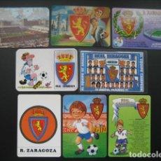 Coleccionismo deportivo: 8 CALENDARIOS FUTBOL REAL ZARAGOZA. AÑOS 1975 - 79 - 93 - 95 - 96 - 97 - 98 - 00. Lote 205800362