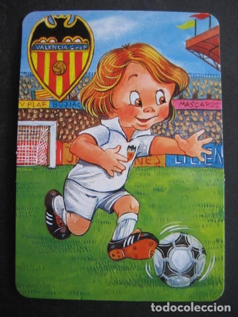 Coleccionismo deportivo: 4 CALENDARIOS FUTBOL VALENCIA C. F. AÑOS 1996 - 2000 - Foto 3 - 205800663