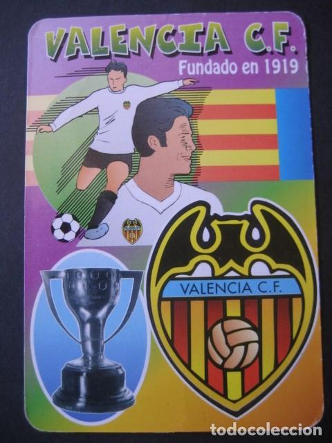 Coleccionismo deportivo: 4 CALENDARIOS FUTBOL VALENCIA C. F. AÑOS 1996 - 2000 - Foto 5 - 205800663