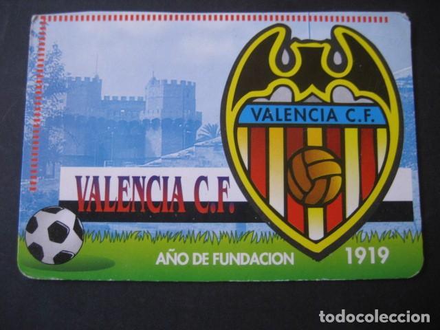 Coleccionismo deportivo: 4 CALENDARIOS FUTBOL VALENCIA C. F. AÑOS 1996 - 2000 - Foto 6 - 205800663