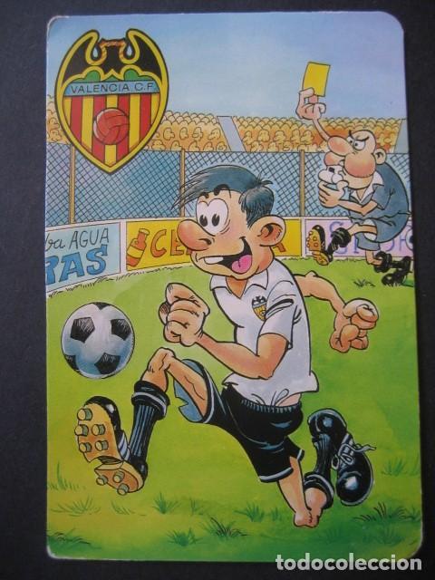 Coleccionismo deportivo: 4 CALENDARIOS FUTBOL VALENCIA C. F. AÑOS 1996 - 2000 - Foto 7 - 205800663