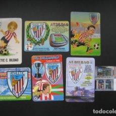 Coleccionismo deportivo: 7 CALENDARIOS FUTBOL ATHELTIC CLUB BILBAO. AÑOS 1974 - 99 - 00 - 02 - 05. Lote 205800885