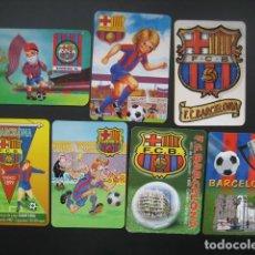 Coleccionismo deportivo: 7 CALENDARIOS FUTBOL CLUB BARCELONA BARÇA. AÑOS 1989 - 90 - 95 - 97 - 02 - 04 - 08. Lote 205801105