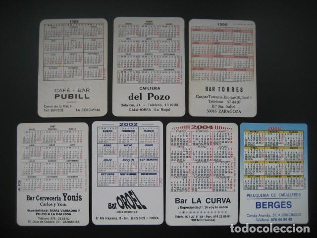 Coleccionismo deportivo: 7 CALENDARIOS FUTBOL CLUB BARCELONA BARÇA. AÑOS 1989 - 90 - 95 - 97 - 02 - 04 - 08 - Foto 2 - 205801105
