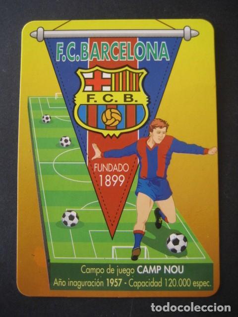 Coleccionismo deportivo: 7 CALENDARIOS FUTBOL CLUB BARCELONA BARÇA. AÑOS 1989 - 90 - 95 - 97 - 02 - 04 - 08 - Foto 7 - 205801105