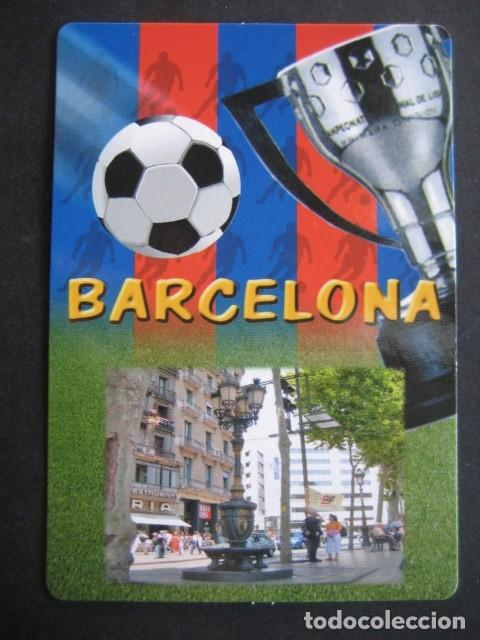 Coleccionismo deportivo: 7 CALENDARIOS FUTBOL CLUB BARCELONA BARÇA. AÑOS 1989 - 90 - 95 - 97 - 02 - 04 - 08 - Foto 12 - 205801105