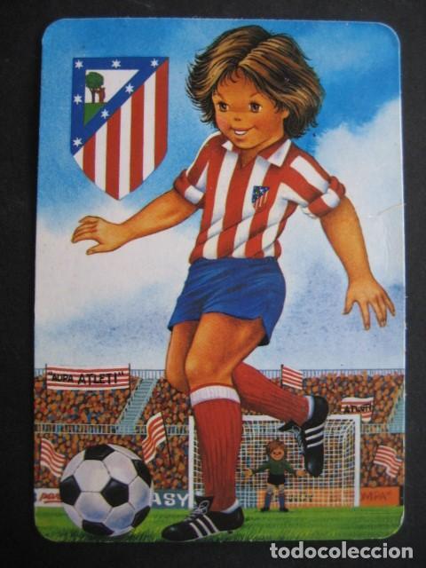 Coleccionismo deportivo: 6 CALENDARIOS FUTBOL ATLETICO DE MADRID. AÑOS 1987 - 88 - 94 - 97 - 00 - Foto 3 - 205801320