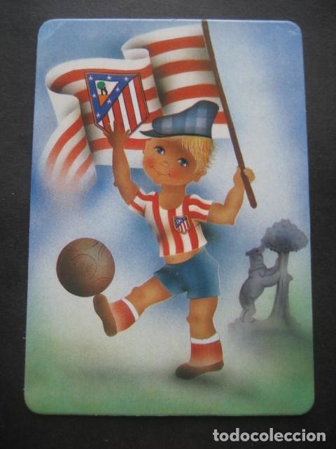 Coleccionismo deportivo: 6 CALENDARIOS FUTBOL ATLETICO DE MADRID. AÑOS 1987 - 88 - 94 - 97 - 00 - Foto 5 - 205801320