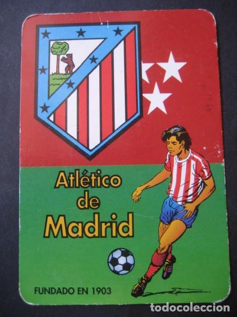 Coleccionismo deportivo: 6 CALENDARIOS FUTBOL ATLETICO DE MADRID. AÑOS 1987 - 88 - 94 - 97 - 00 - Foto 8 - 205801320